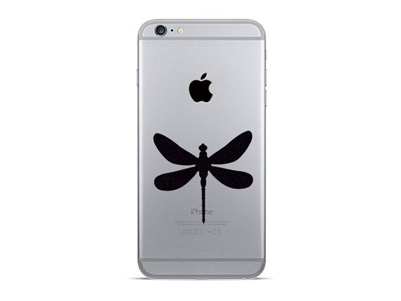 Dragonfly iphone 6 decal 2 dragonflies velvet by mirshkastudio