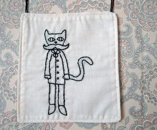 Turn embroideries into wall hangings!