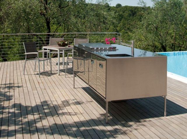 Cuisine exterieur Arclinea Cuisines du0027été Pinterest Roof deck