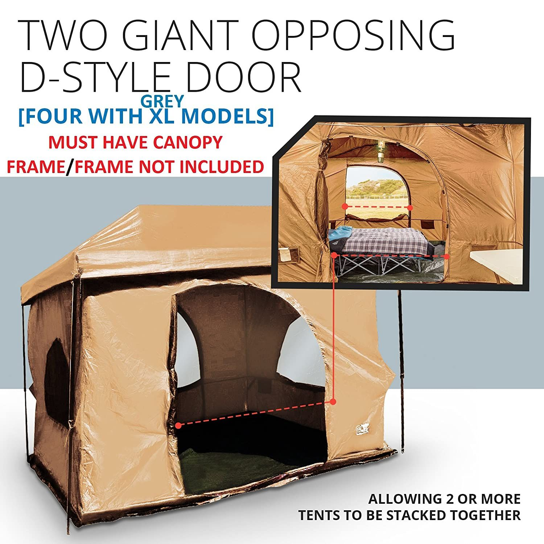 The OriginalAuthentic Standing Room Family Cabin Tent 8.5