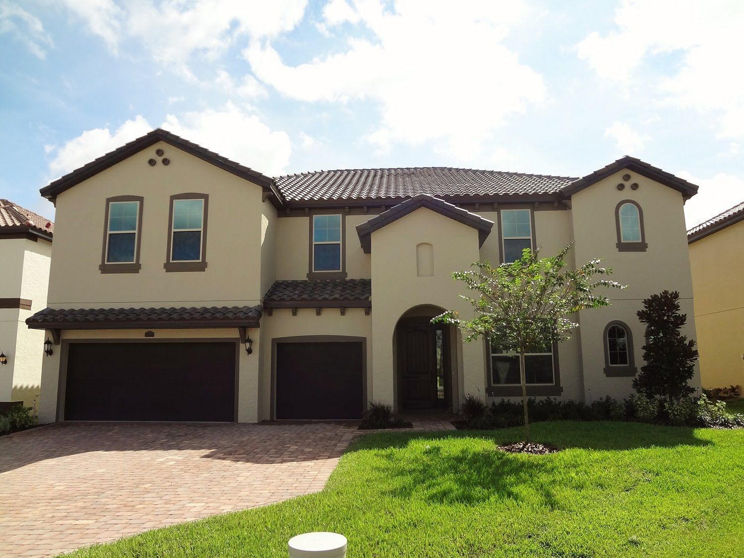 New home garden  Winter Garden New Homes  Twinwaters by Meritage Homes  Wimberley