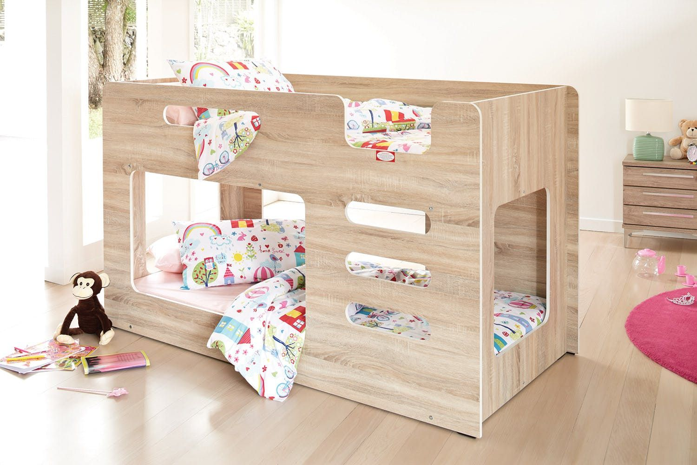 Peekaboo Single Bunk Bed Frame Single bunk bed, Bunk