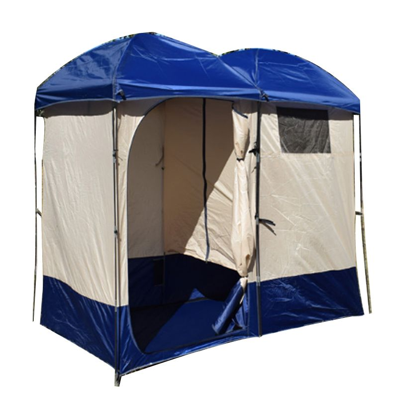Double Shower Tent Camping Shower Bath Tents Outdoor