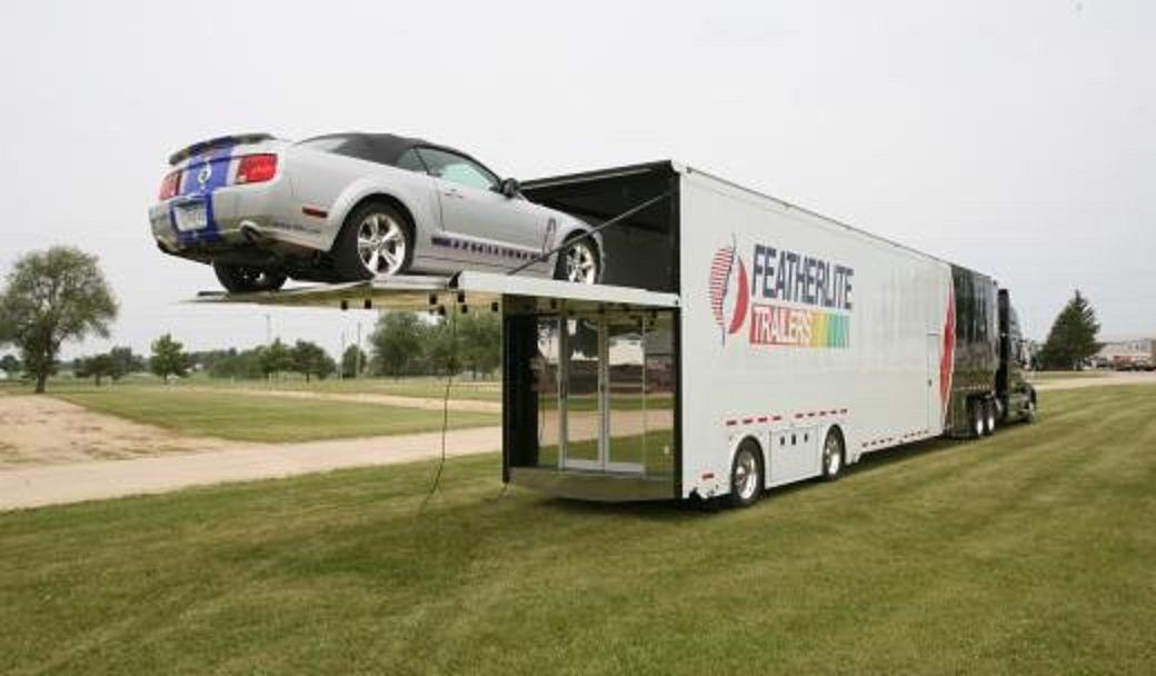 2013custom classic car hauler lift gate type custom