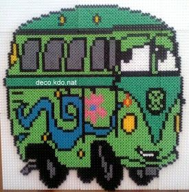 Fillmore Cars hama perler beads by deco.kdo.nat.