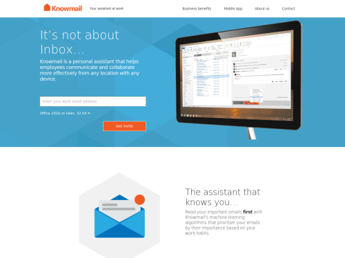 Knowmail: a Personal Assistant for Your Inbox