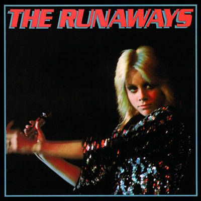 The Runaways - Self Titled The Runaways (featuring the song Cherry Bomb) (1976) (band members Joan Jett, Cherrie Currie, Lita Ford, Sandy West & Jackie Fox)
