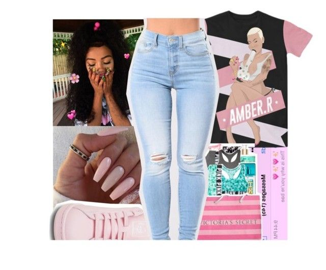 """""""04.10.17 pinky"""" by purplequeen04 ❤ liked on Polyvore featuring adidas"""