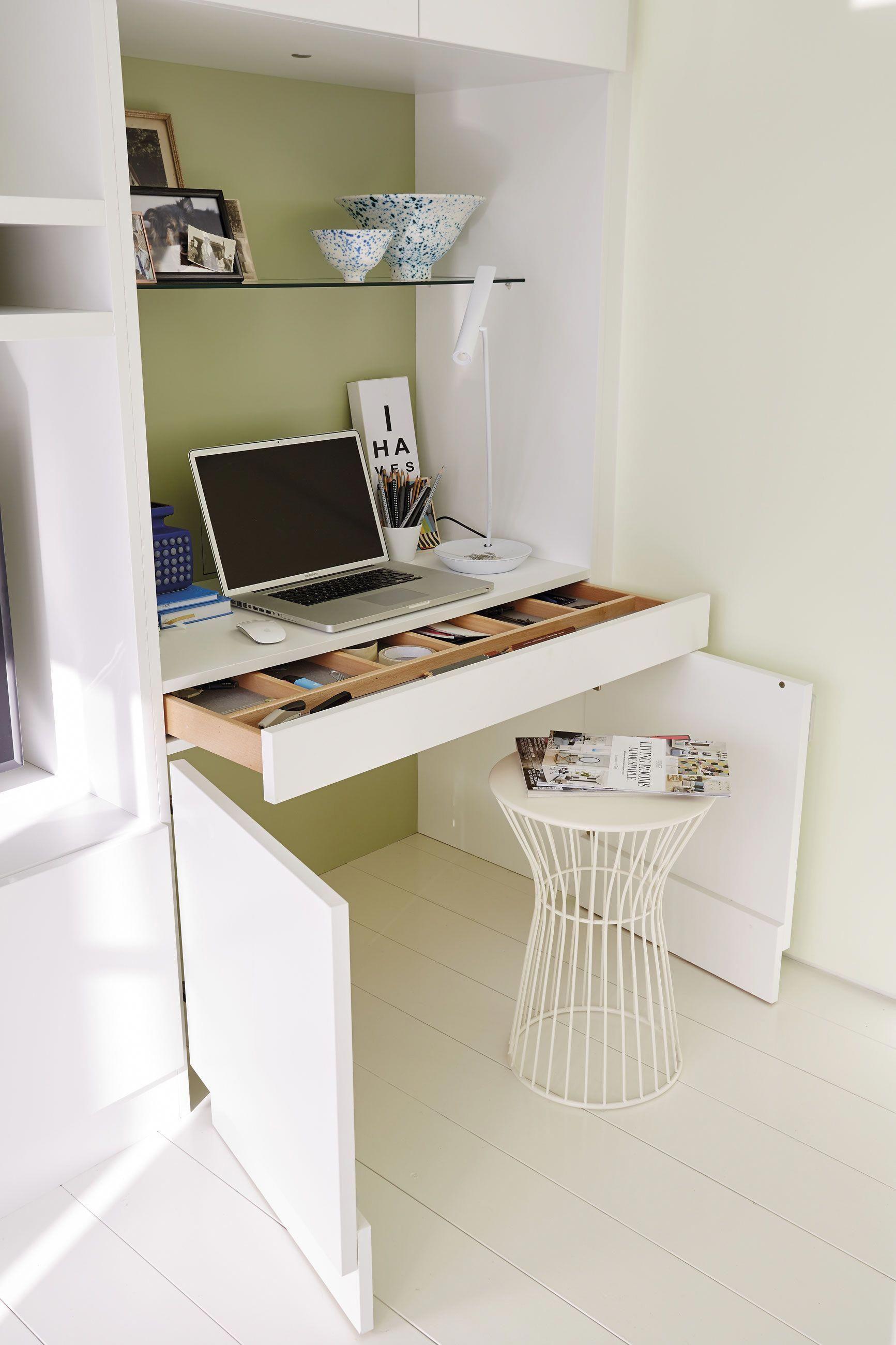 Stylish Study Room: Desk In Living Room, Bedroom Desk