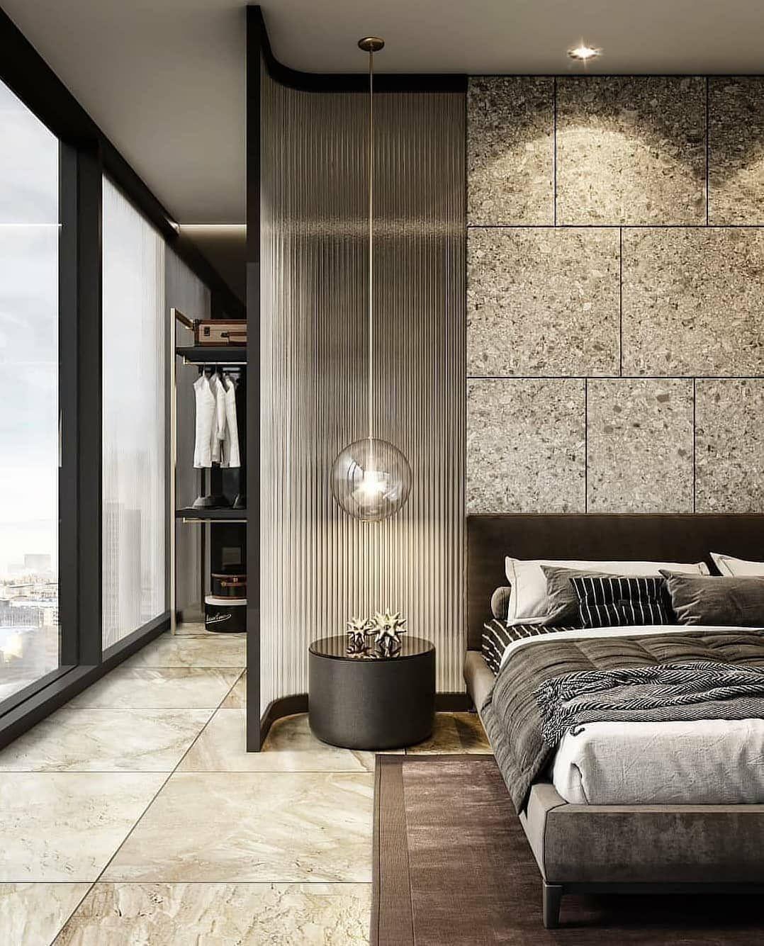 Mimari Dekorasyon On Twitter Luxurious Bedrooms Interior Design Bedroom House Interior Interior designing bedroom photos