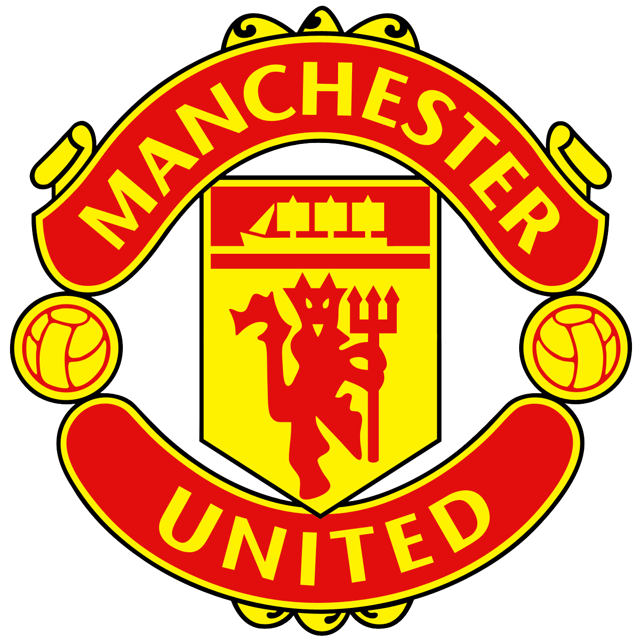 Manchester United logo PNG image with transparent ...