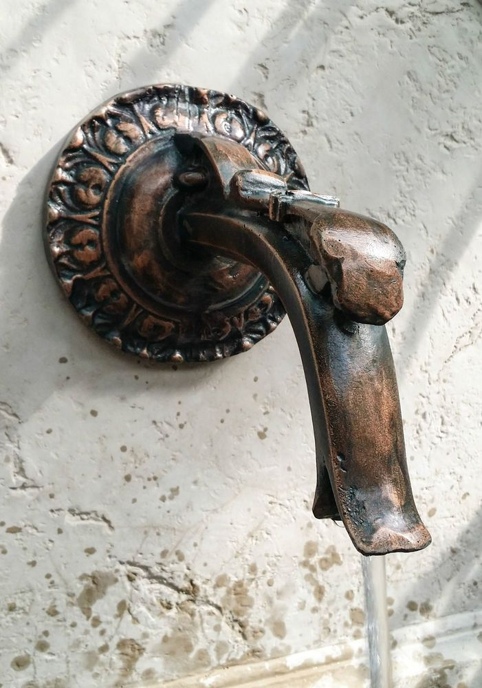 Details About Outdoor Garden Tap Spout Water Feature Wall