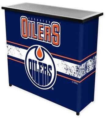 NHL Edmonton Oilers Portable Bar with Case #ad #bar # ...