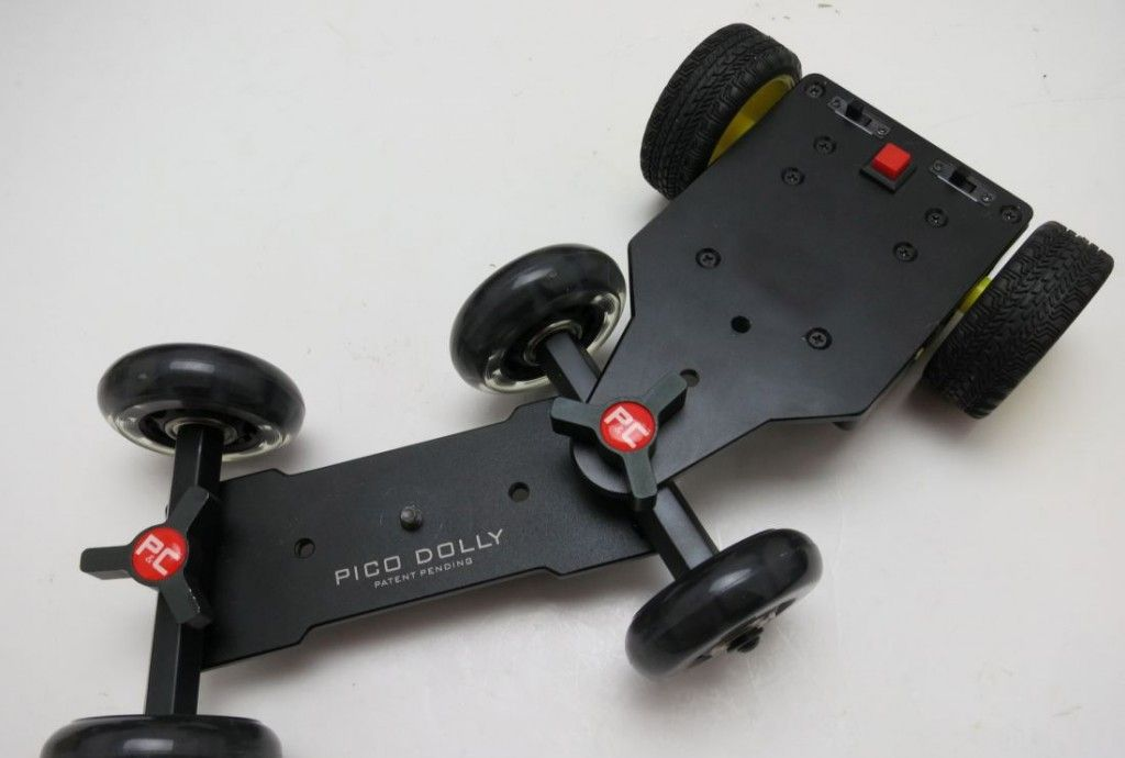 Pico Dolly with Self Contained Motorized Trailer