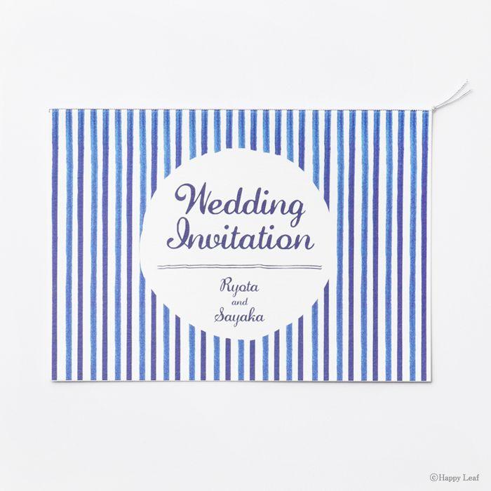 結婚式 招待状 Float 1