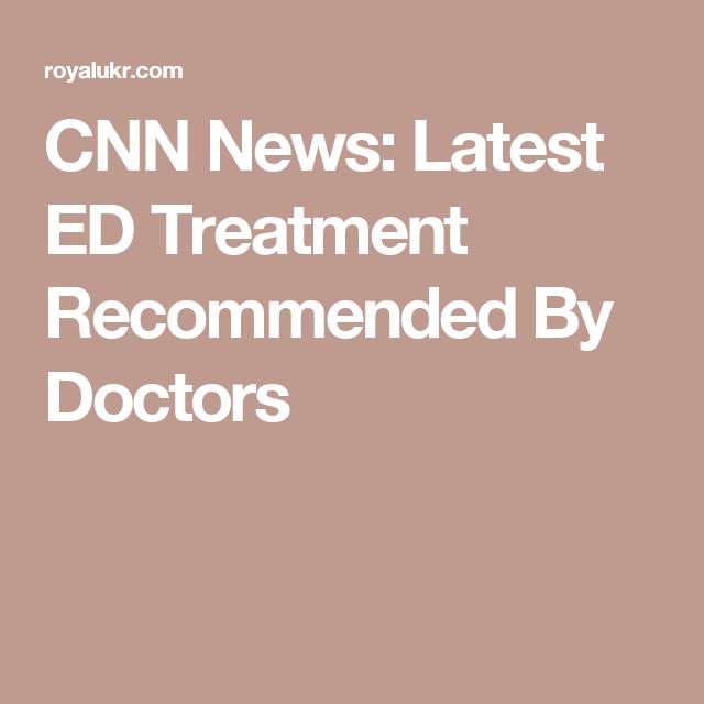 latest ed treatments