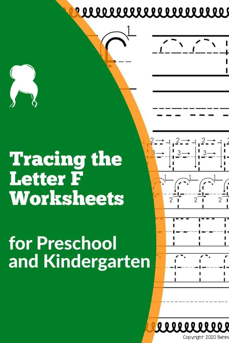 Letter F Worksheets And Activities For Preschool Pre Kindergarten Classroom Kindergarten Worksheets Toddler Learning Activities Kindergarten worksheets letter f