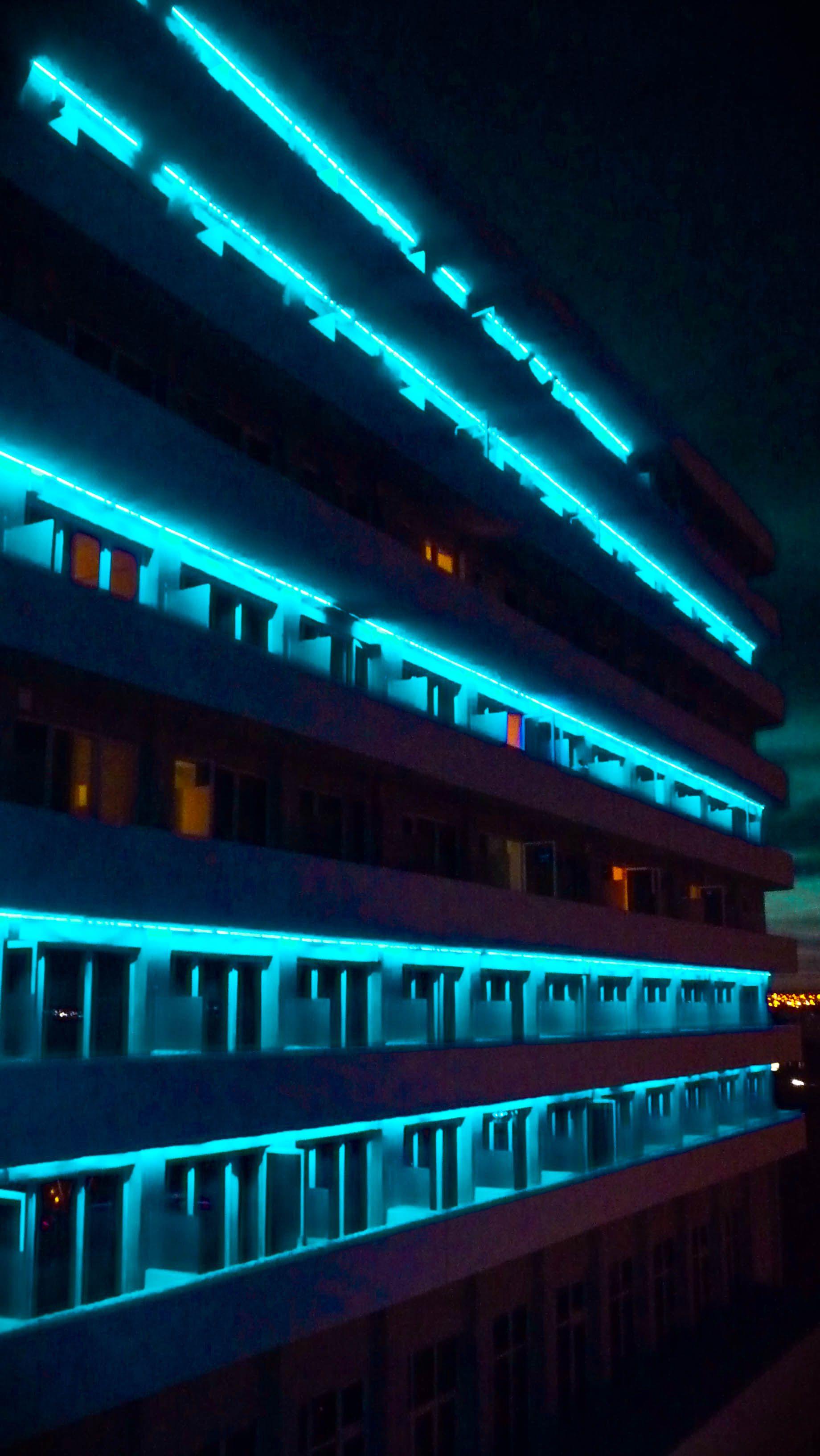 Hotel Rayentray Puerto Madryn Rayentray Hotel Night Lights
