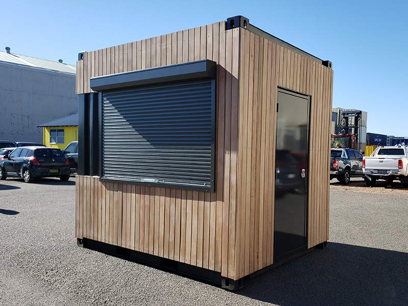 10ft Shipping Container Cafe Container Cafe Shipping Container Cafe Building A Container Home