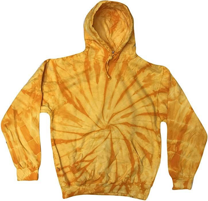4dbb3055b Amazon.com: Colortone TD Hoodie 6-8 (SM) Reactive Rainbow: Clothing ...