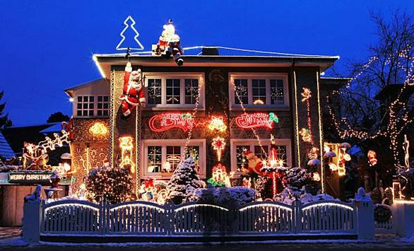 Hamburg Germany Christmas House Lights Holiday Lights Display Christmas Decorations For The Home