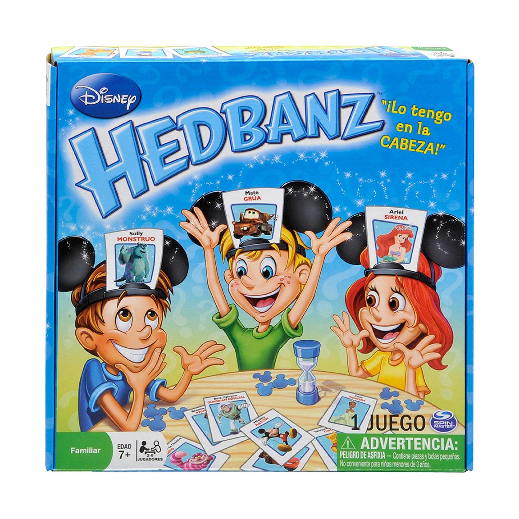 Juegos Spin Master Hedbanz Disney Adivina Qué Personaje U Objeto De Disney Eres Antes Que Los Demás Para Ser El Gan Juegos De Disney Juegos De Tablero Disney