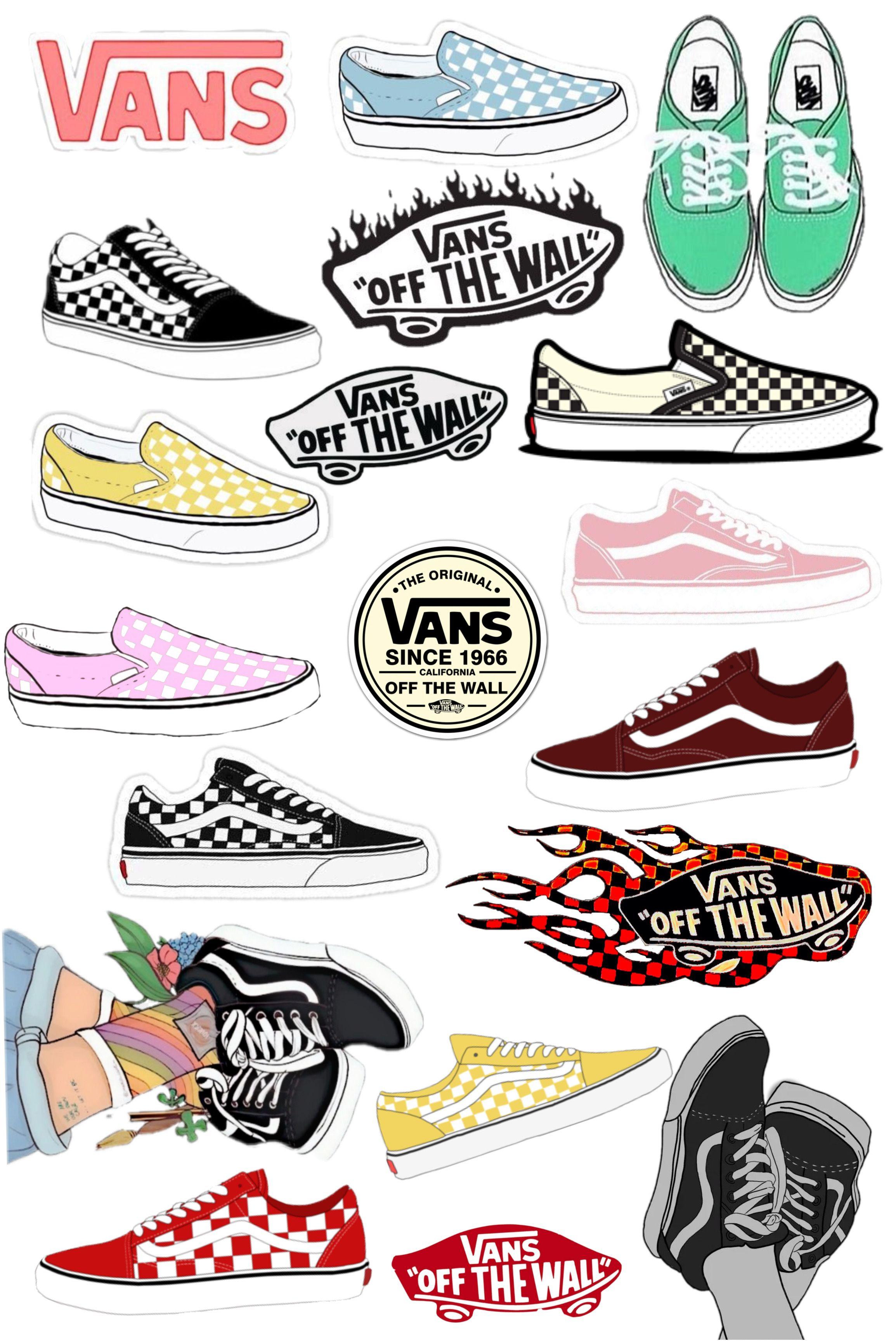 Stickers Vans | Vans stickers, Aesthetic stickers, Bubble stickers