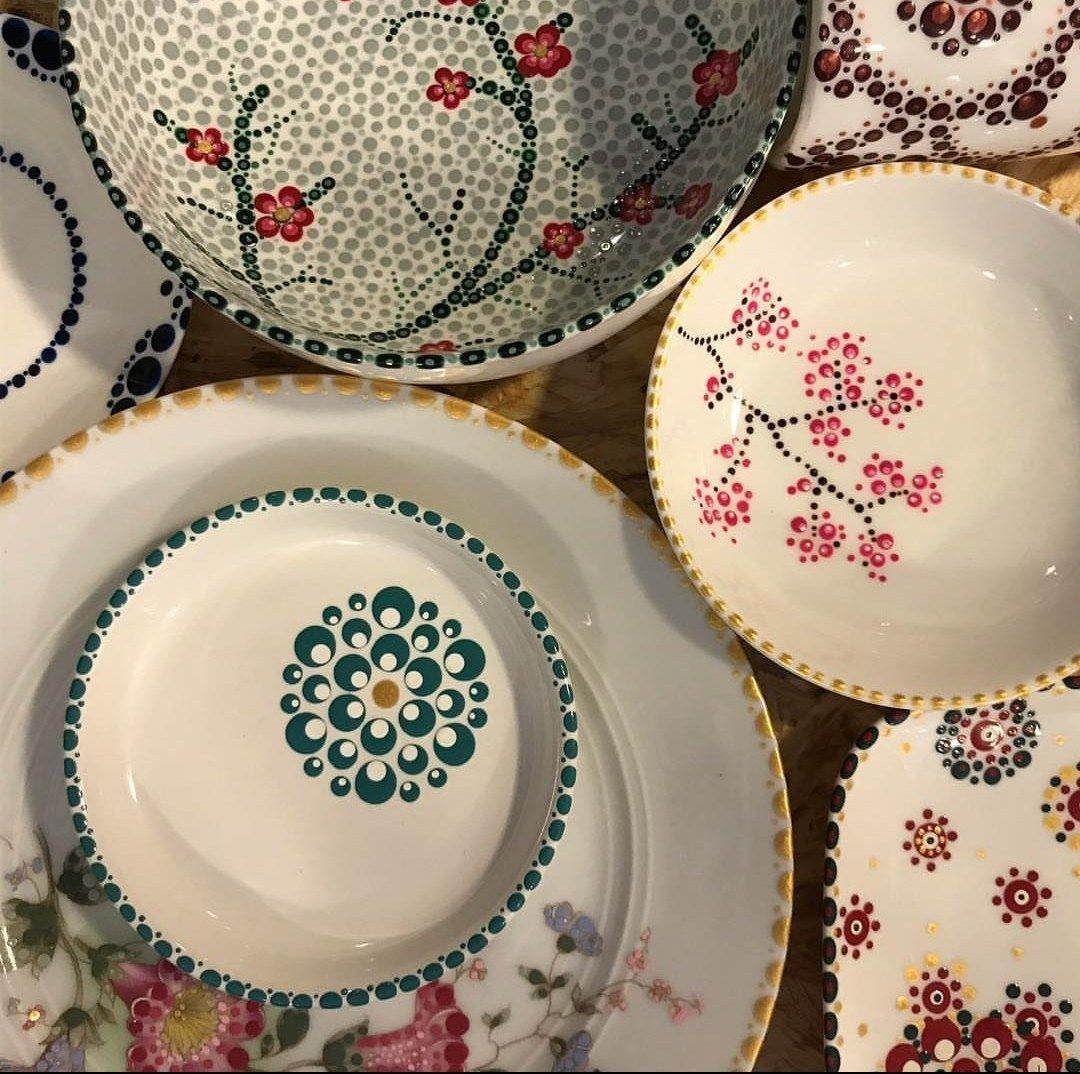 Dots Design.NL Start met stippen #potterypaintingideas