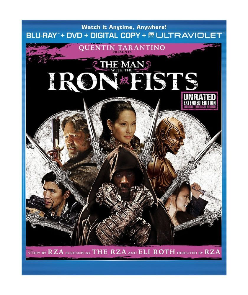 Bluray the man with the iron fists kung fu 2 disc set