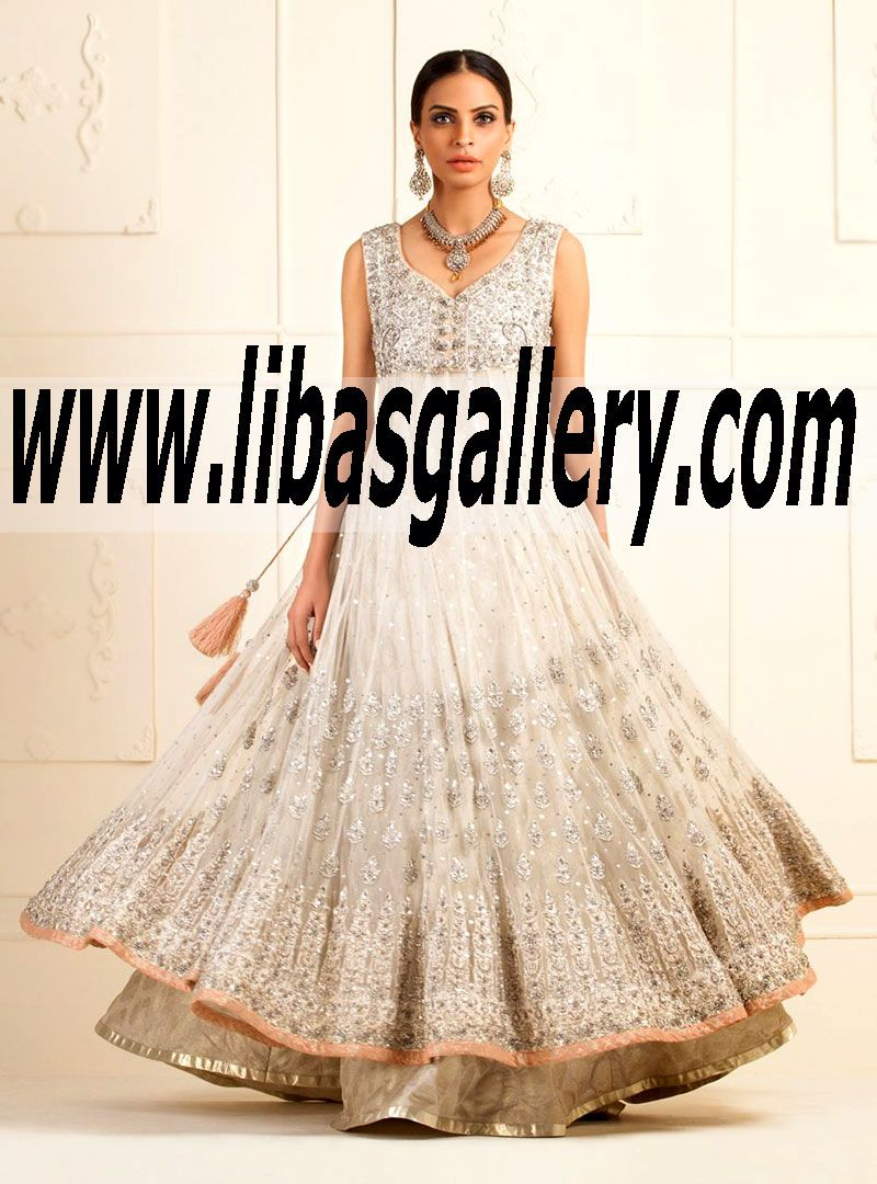 Latest wedding dress bridal anarkali fashion the best for Largest selection of wedding dresses