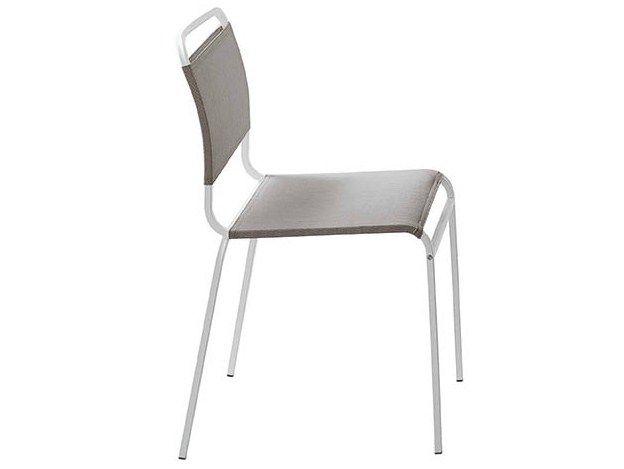 Midj Sedie ~ Sedia impilabile in alluminio murphy by midj design paolo vernier