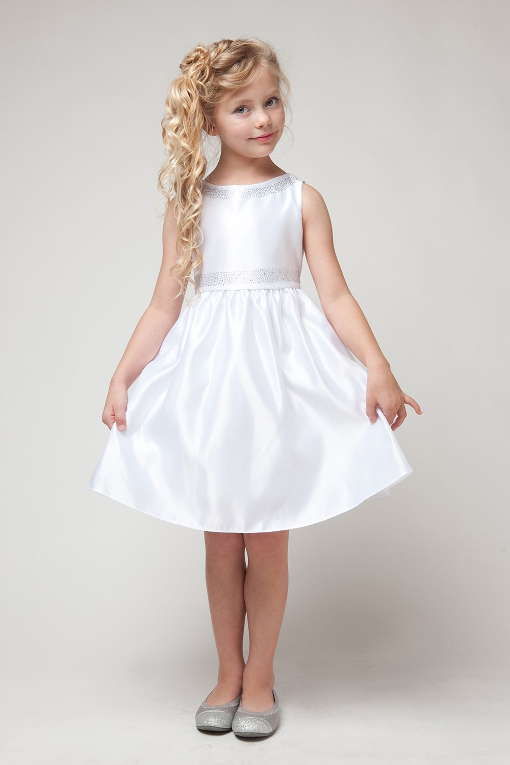 simple white dresses for girls - Dress Yp