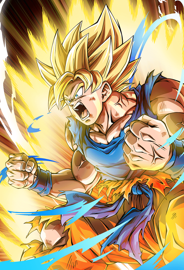 Goku SSJ (Namek Saga) card 4 [Bucchigiri Match] by Maxiuchiha22 on DeviantArt