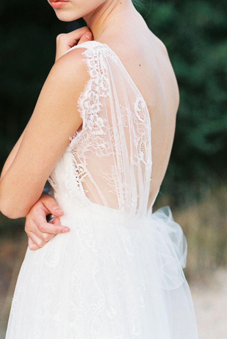 Bridal Gown lace details Headpiece by Bride La Boheme  #bridalheadpieces #weddingaccessories #bridelaboheme ( Instagram @bridelaboheme)