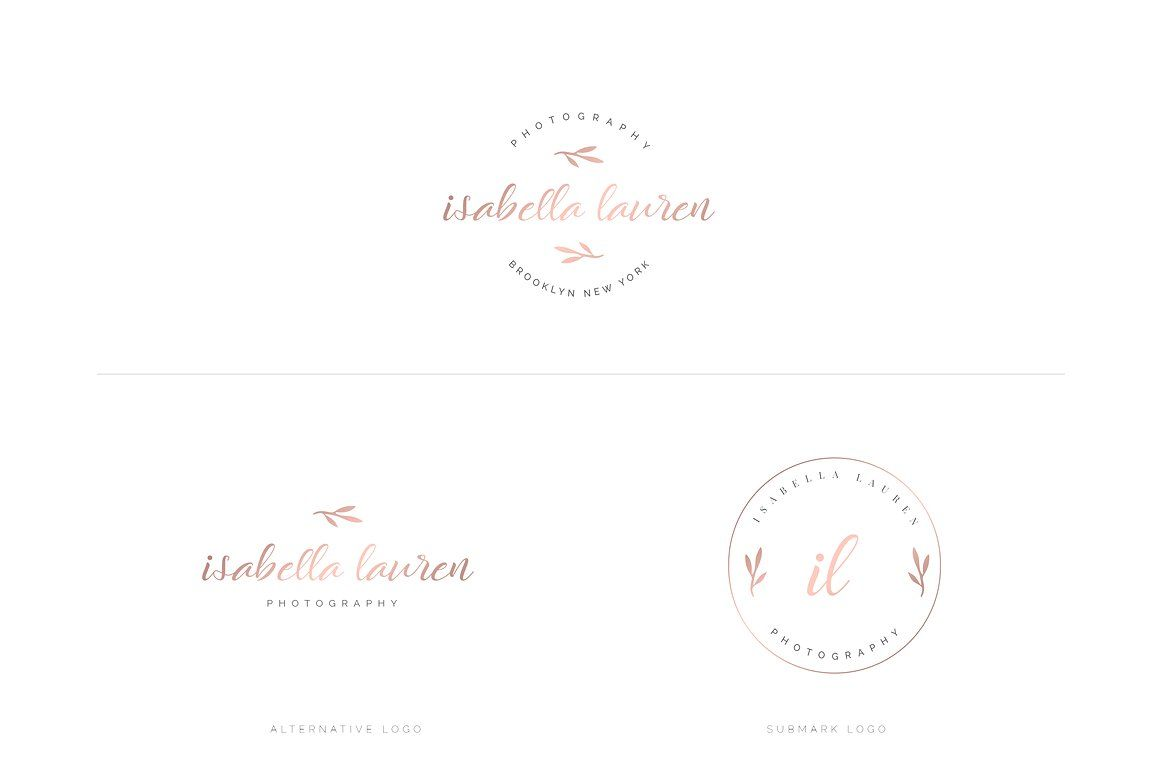 Ladylike Premade Branding Logo Pack by SNIPESCIENTIST on @creativemarket