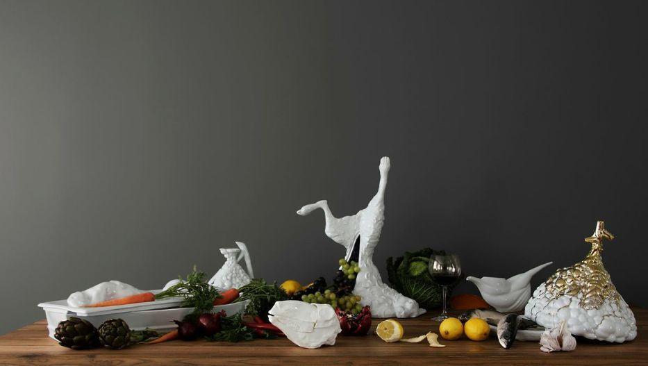Sculpture animalière - Blanc - Maria VOLOKHOVA - Decofinder