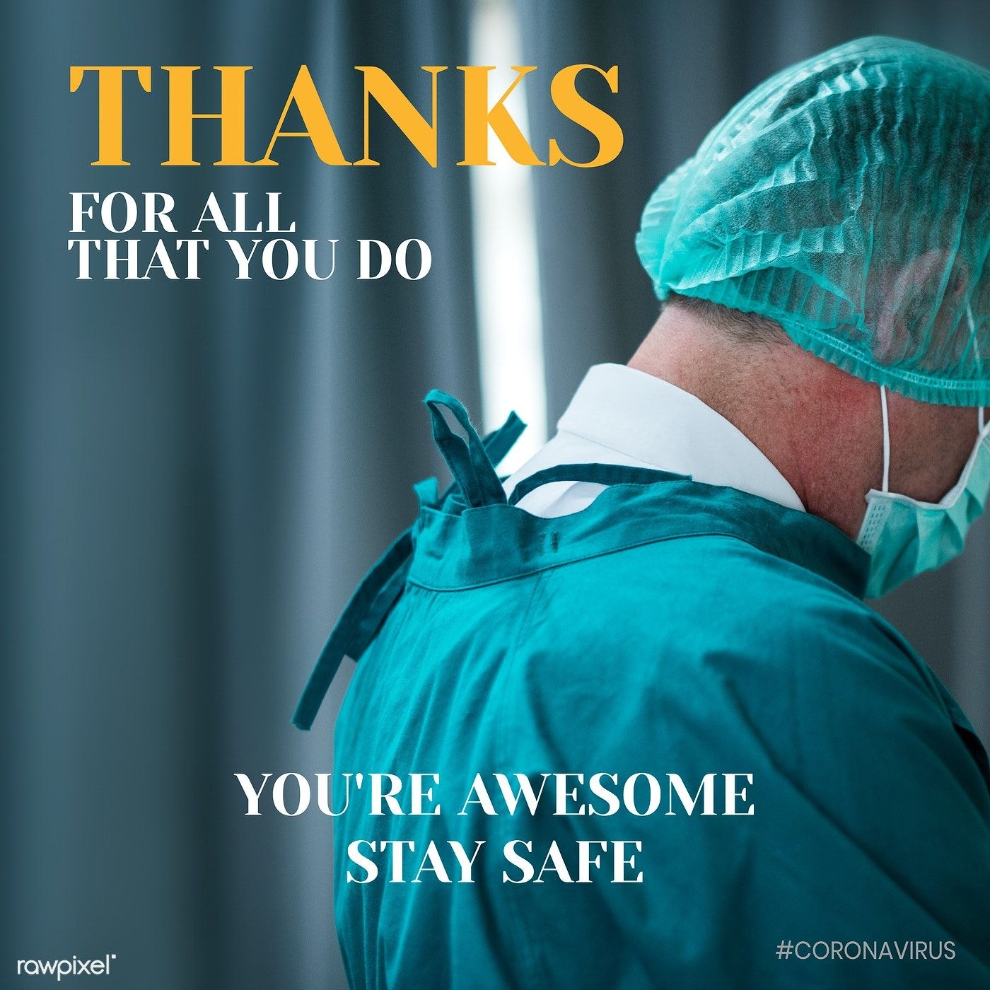 Thanks for all that you do banner vector free image by