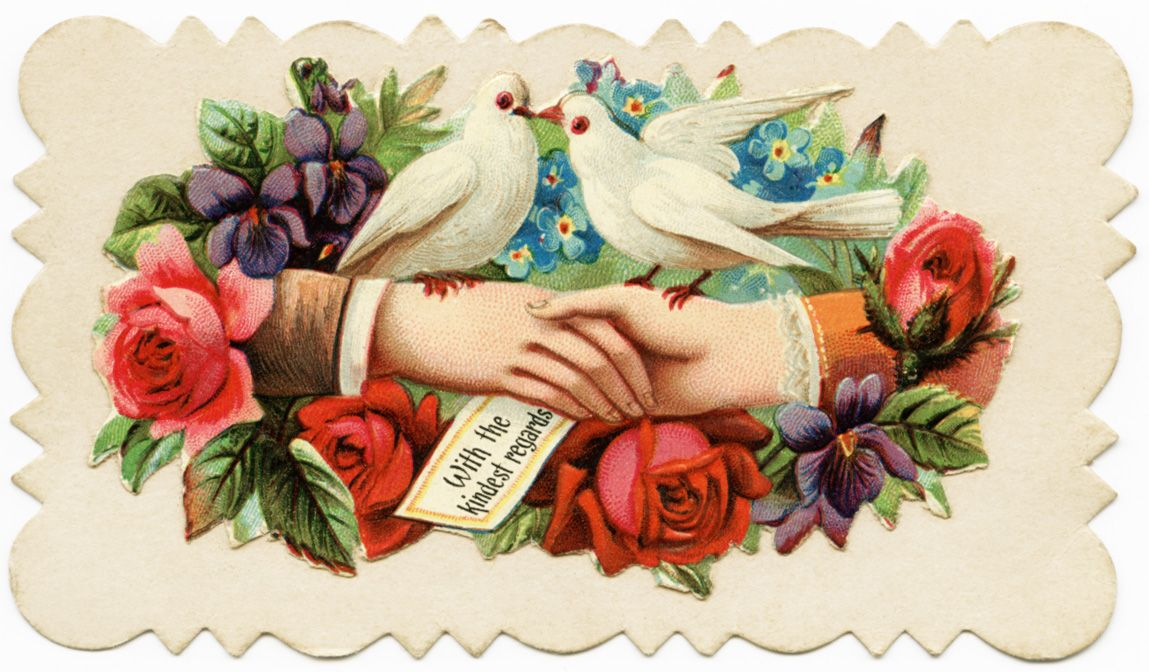 Old Design Shop ~ free digital image: Victorian Calling Card | Old ...