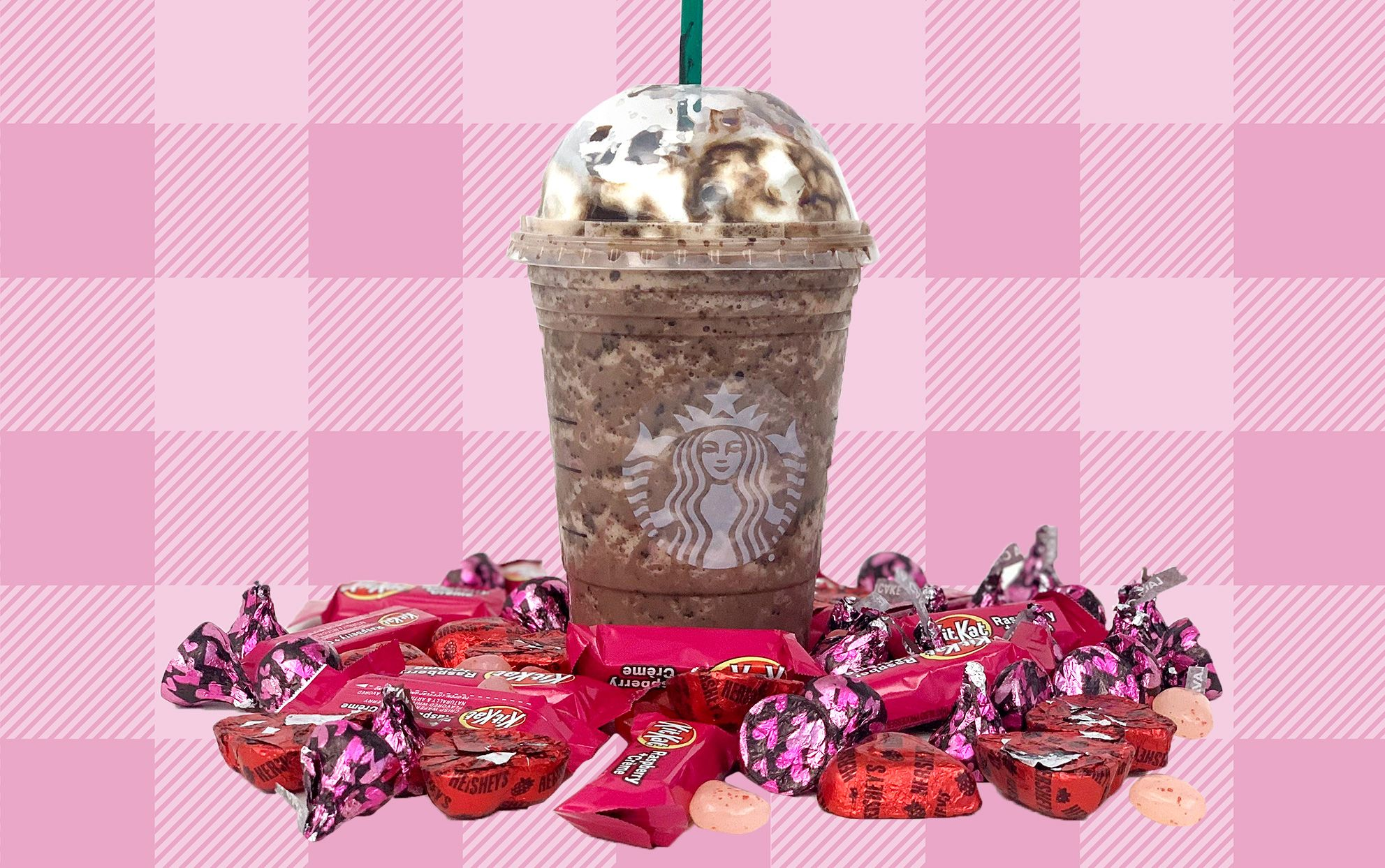 Starbucks Has a ChocolateCovered Strawberry Drink on the