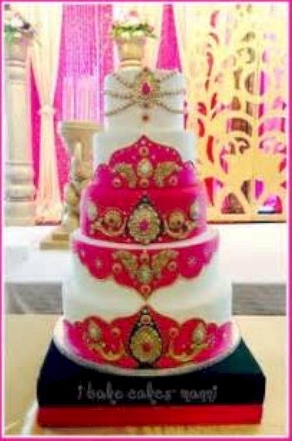 80 Inspiring Indian Wedding Cakes You May Like Cake Indian