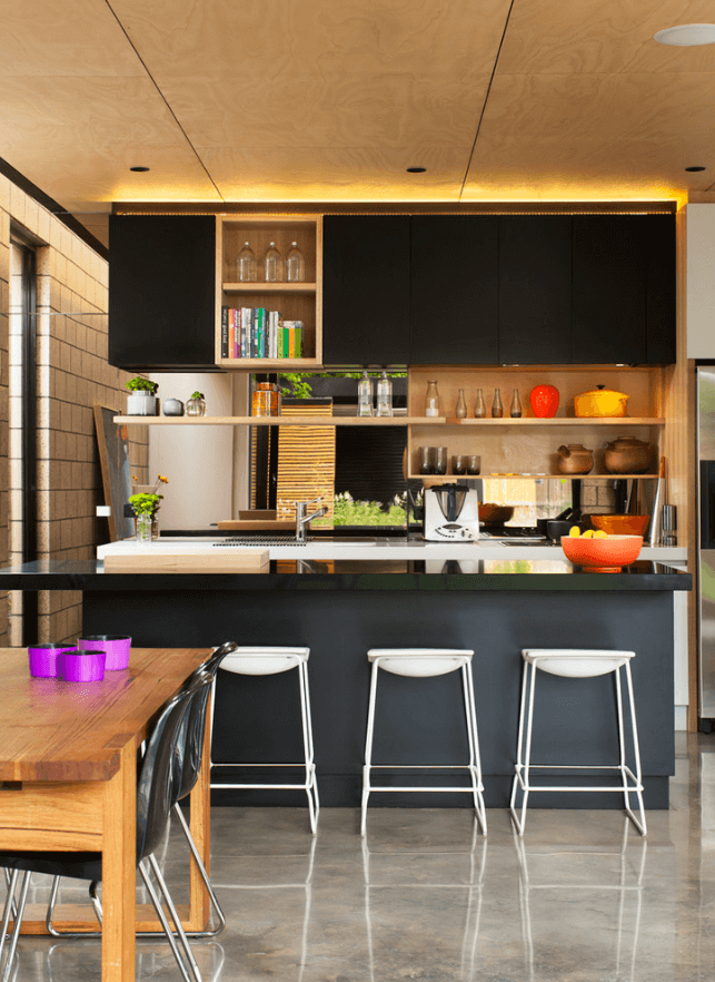Modern Interior Design Ideas For Kitchen Part - 35: 31 Black Kitchen Ideas For The Bold, Modern Homeu2026