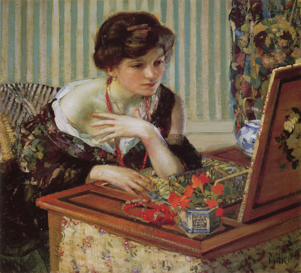 The Scarlet Necklace by Richard E. Miller