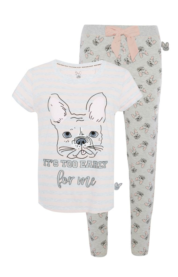 917b7b896 Primark - Pyjamabroek Franse bulldog