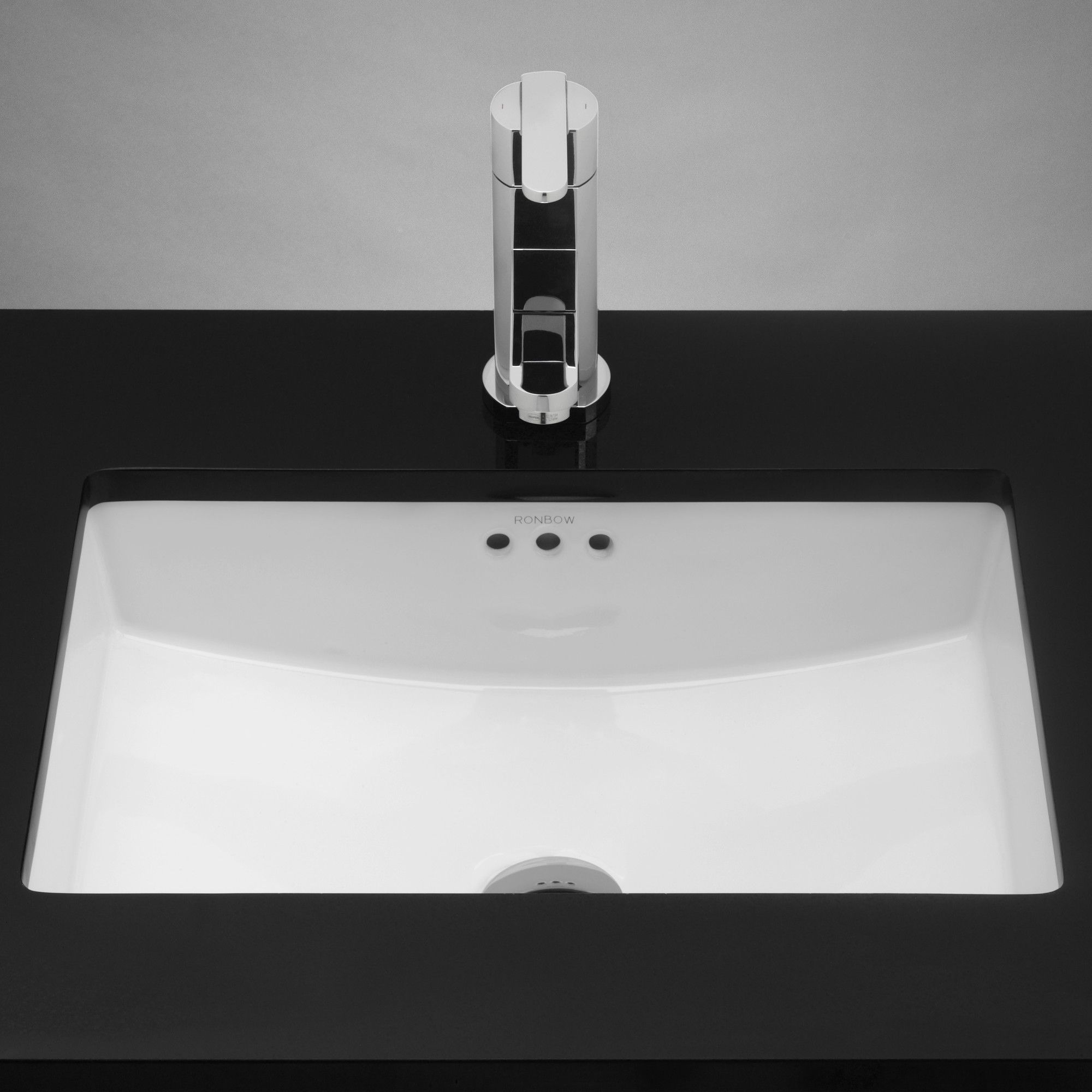 Ronbow Rectangle Ceramic Undermount Bathroom Sink With Overflow Reviews Wayfair