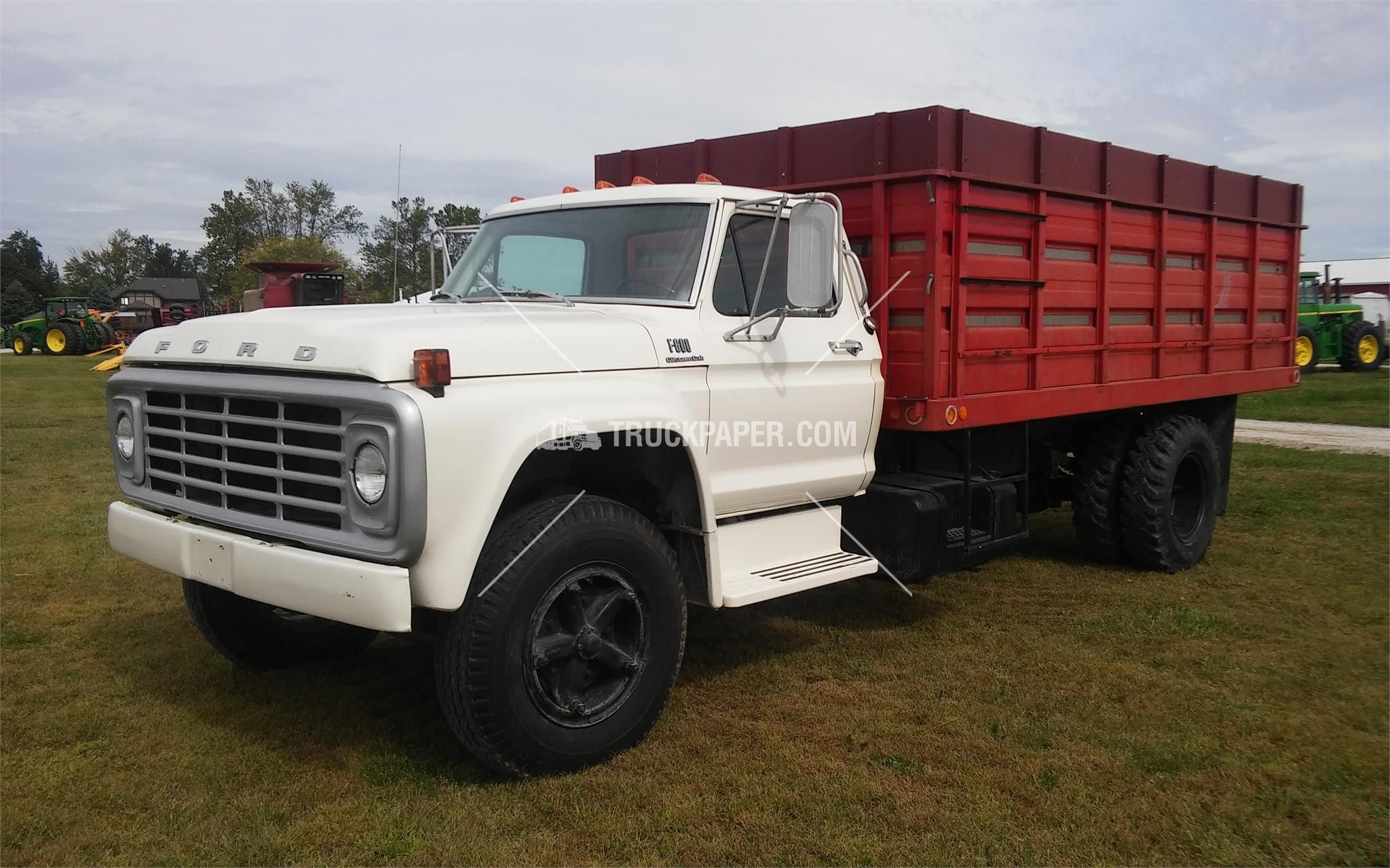 Grain Trucks For Sale >> 1975 Ford F600 Medium Duty Trucks Farm Trucks Grain Trucks For