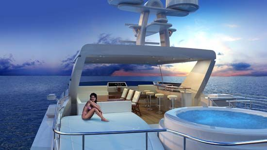 All Ocean Yachts 100 Flybridge with Spa