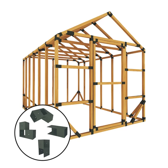 8 W X 12 D Greenhouse Kit Greenhouse Kit Greenhouse Panels Storage Shed Kits