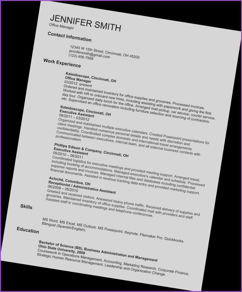 Assistant Manager Resume Sample Unique Resume Examples Accountant Best Top Fresh Gra Job Resume Examples Work Motivational Quotes Resume Template Examples
