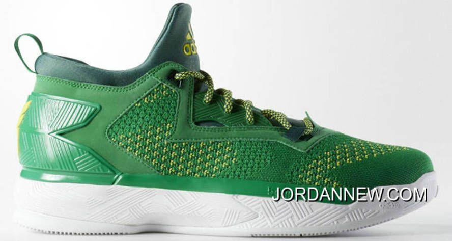 / / adidas d lillard 2 in vendita green college