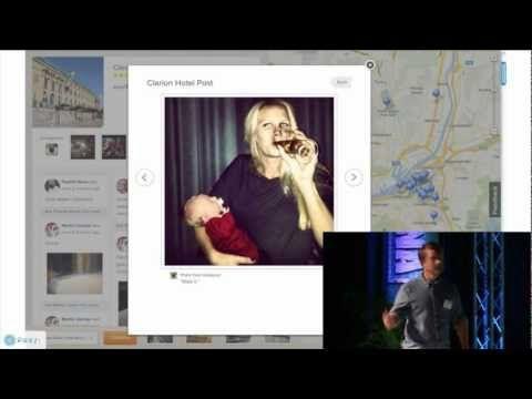 """Ted Valentin, Tripbirds: """"Facebook eller Google - Hur bygger man webbföretag 2012?"""""""
